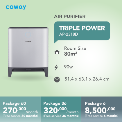 Coway Triple Power