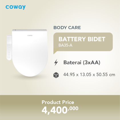 Coway Battery Bidet