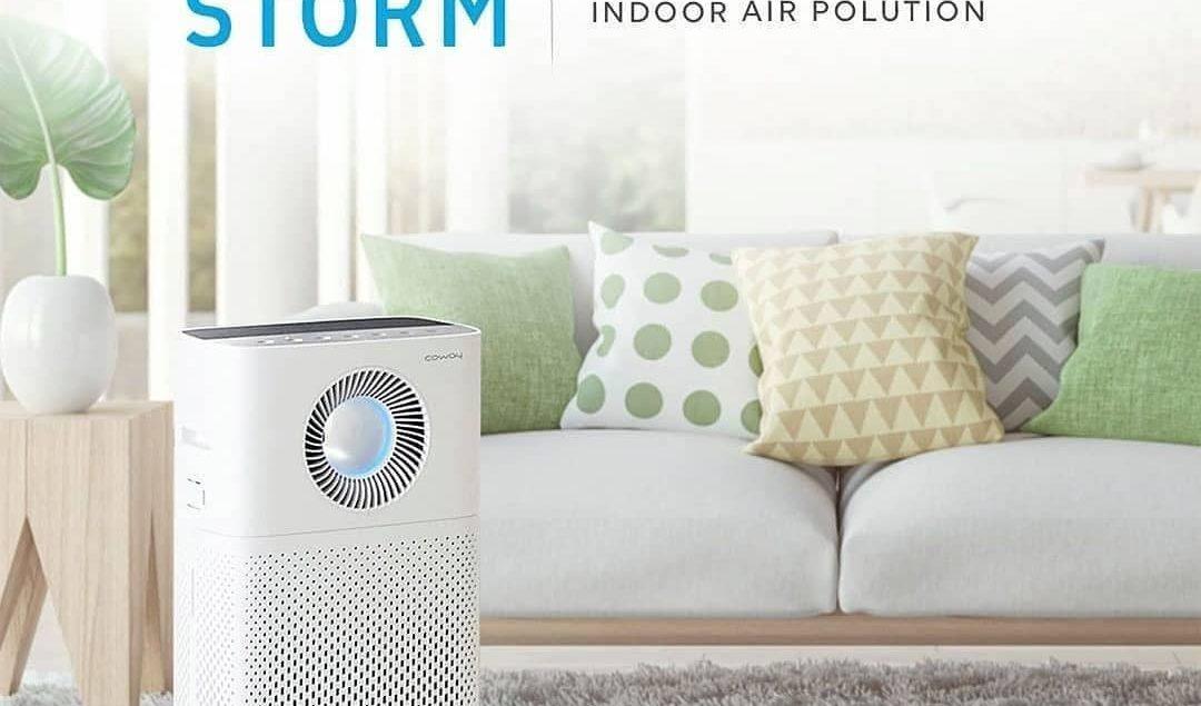 Dilengkapi dengan Deodorization filter, Storm dikenal sebagai air purifier yang juga berfungsi mengh...