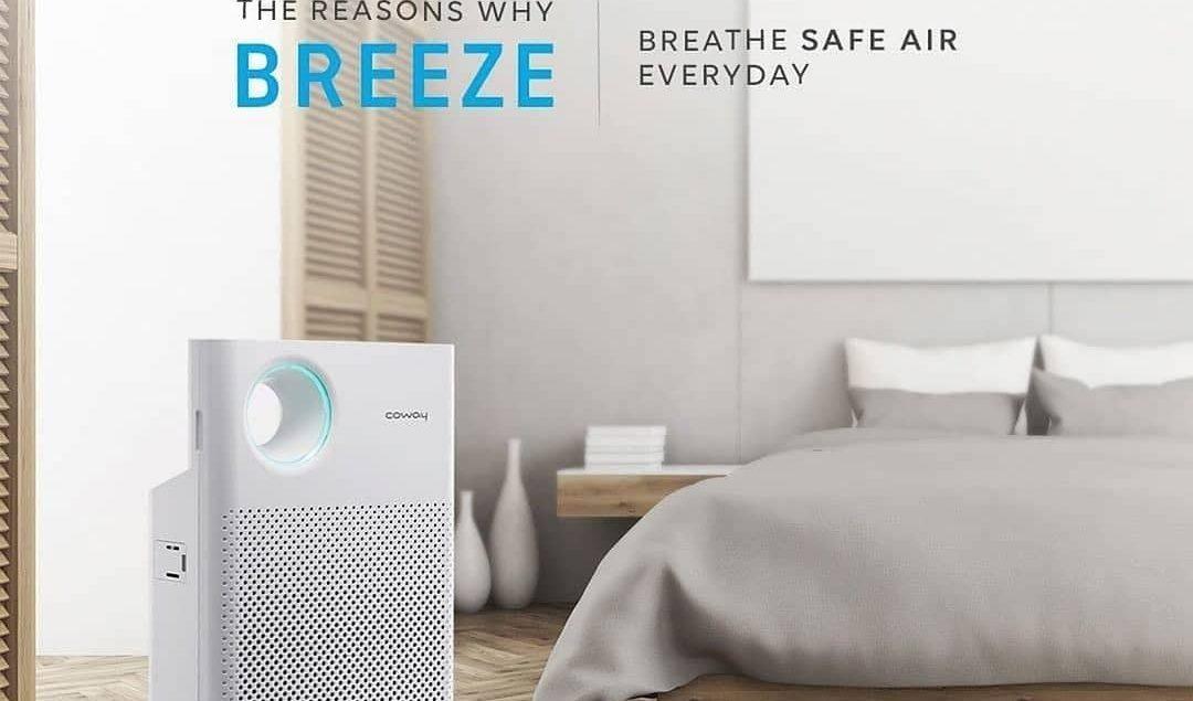 Kenalan dengan Breeze yuk! Air purifier dengan tenaga ekstra yang mampu menyaring udara dengan 5 mod...