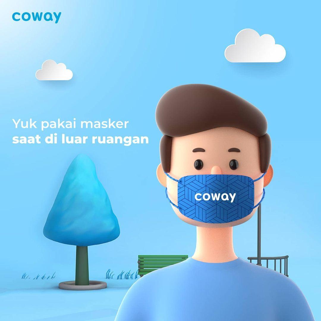 Coway Jakarta - Siang Coway People Sebelum keluar ruangan dan bertemu orang lain