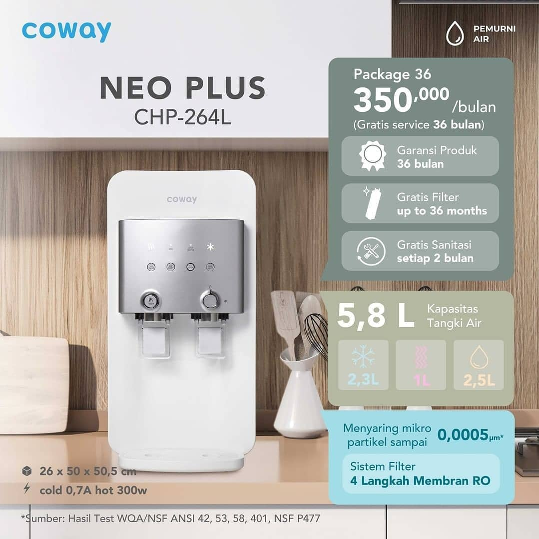 Coway Jakarta - Siap untuk hidup lebih sehat Mimin Coway punya solusinya Sediakan