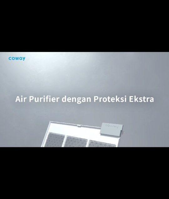 Coway bisa memurnikan udara dengan maksimal? Tentu saja! Green True HEPA filter dan filter lainnya m...