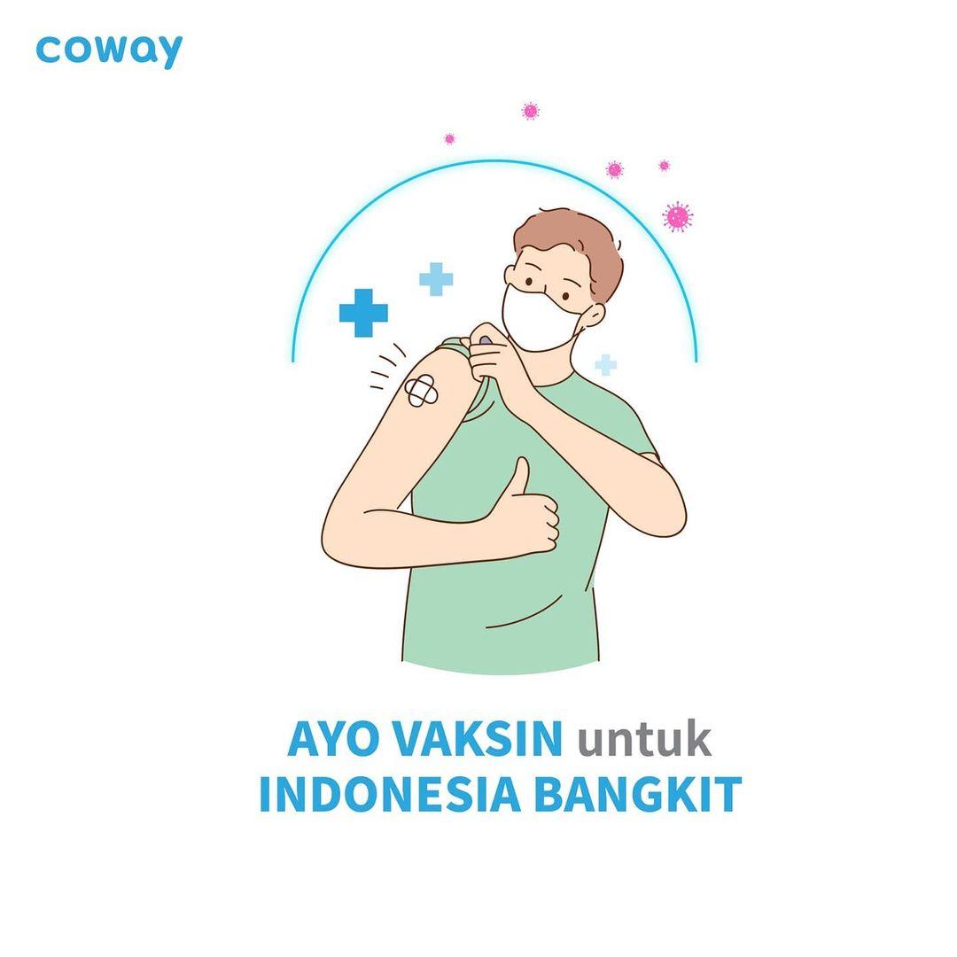Coway Jakarta - Hai Coway People Masih bingung mengapa kamu harus melakukan vaksinasi