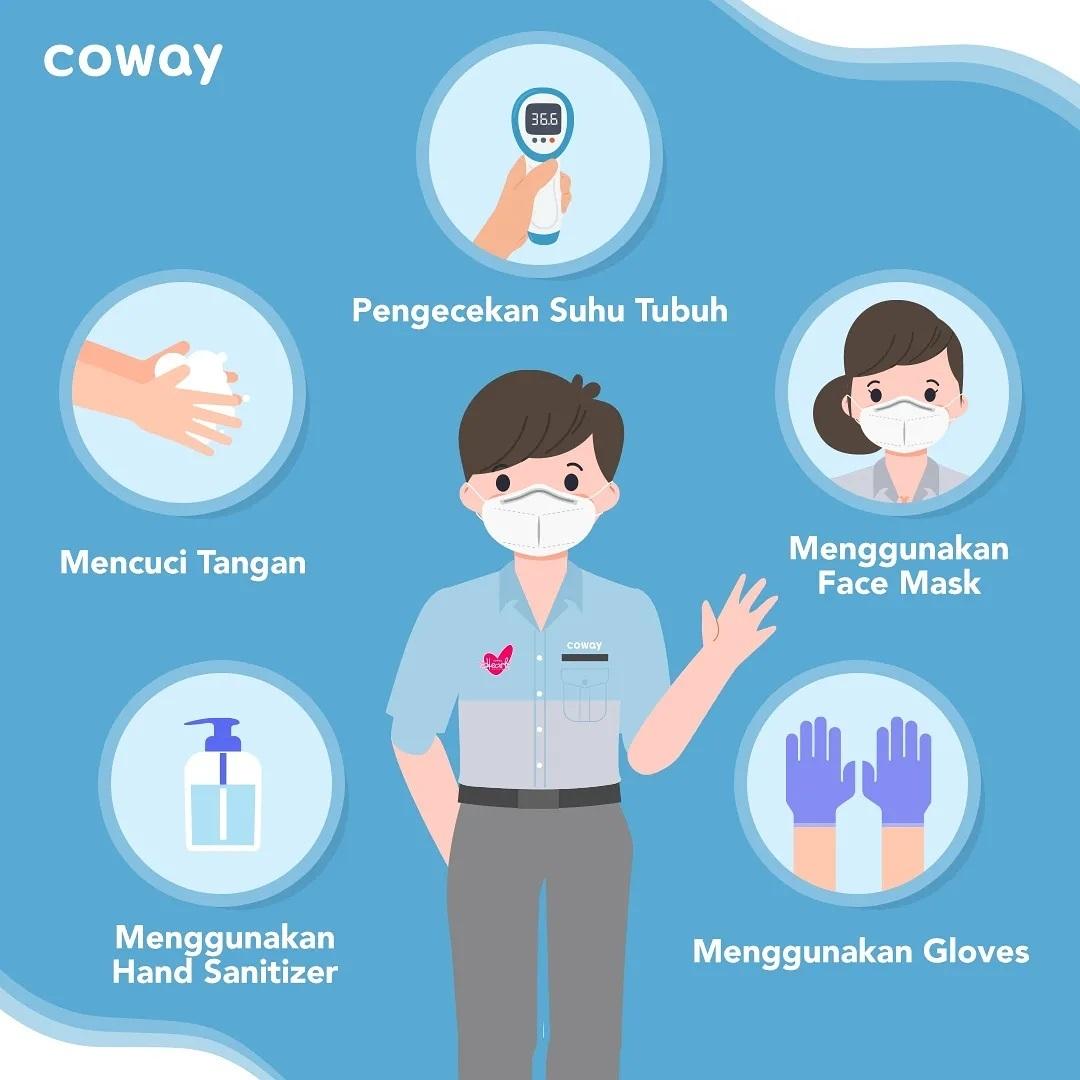 Coway Jakarta - Hai Coway people Kami mengerti dan kami peduli Coway Lady
