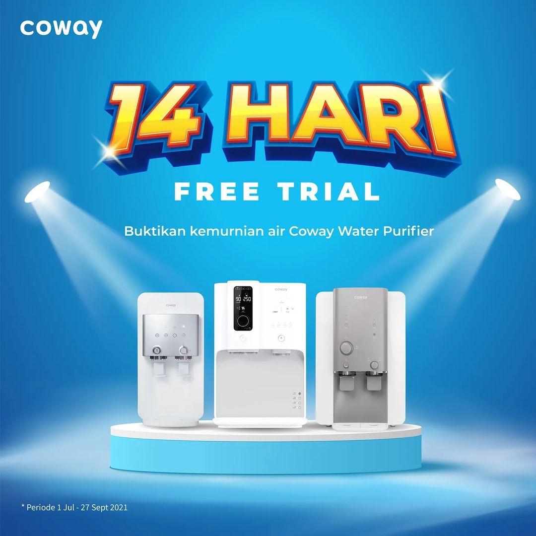 Coway Jakarta - Ingin beli Water Purifier tapi ragu Yuk coba gratis Coway