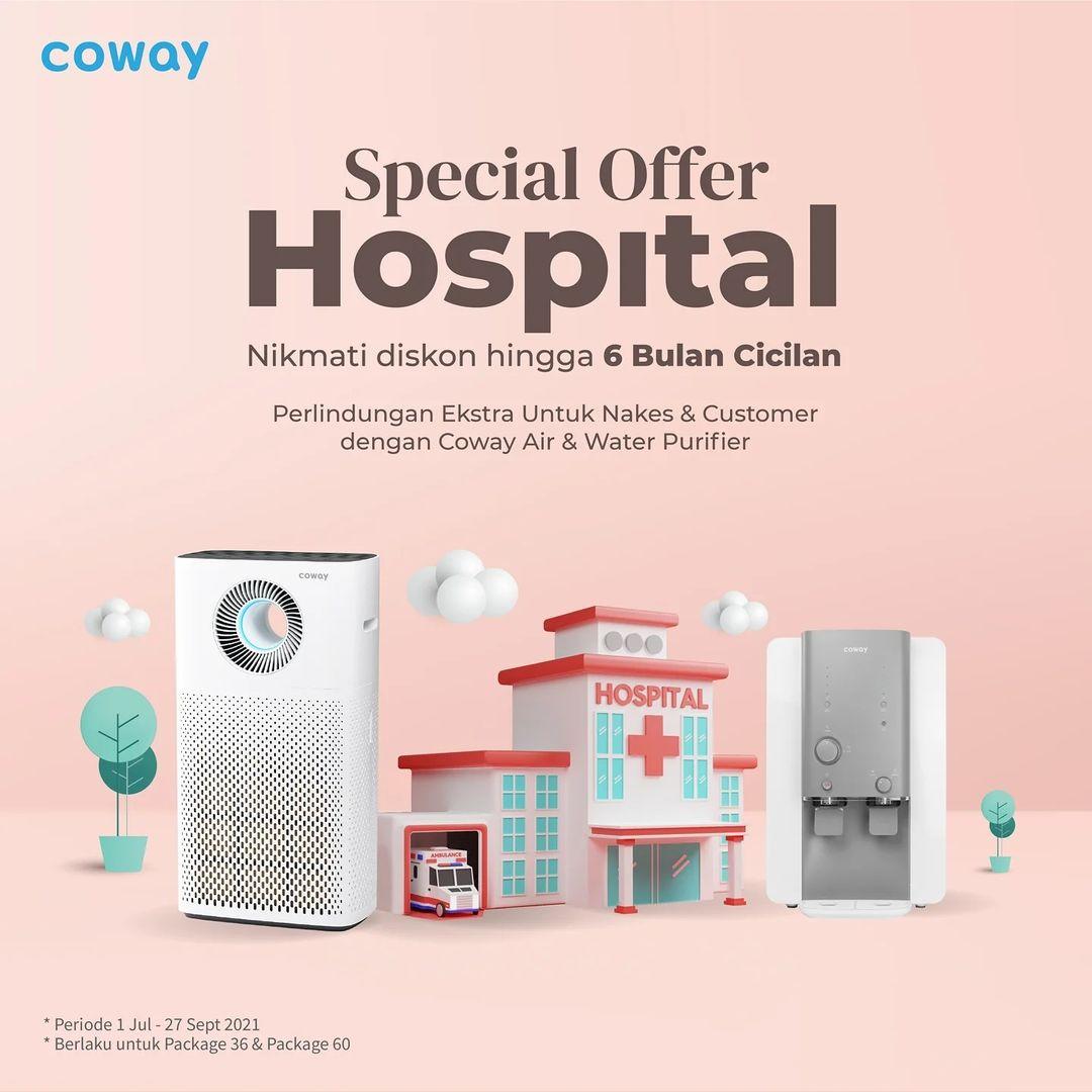 Coway Jakarta - Penawaran spesial untuk Rumah Sakit atau Institusi kesehatan Nikmati potongan