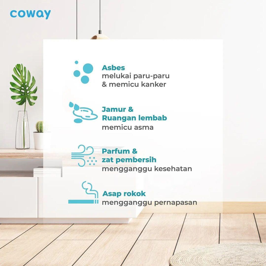 Coway Jakarta - 1629578290 206 Taukah kamu bahwa polusi juga dapat dihasilkan dari berbagai sumber