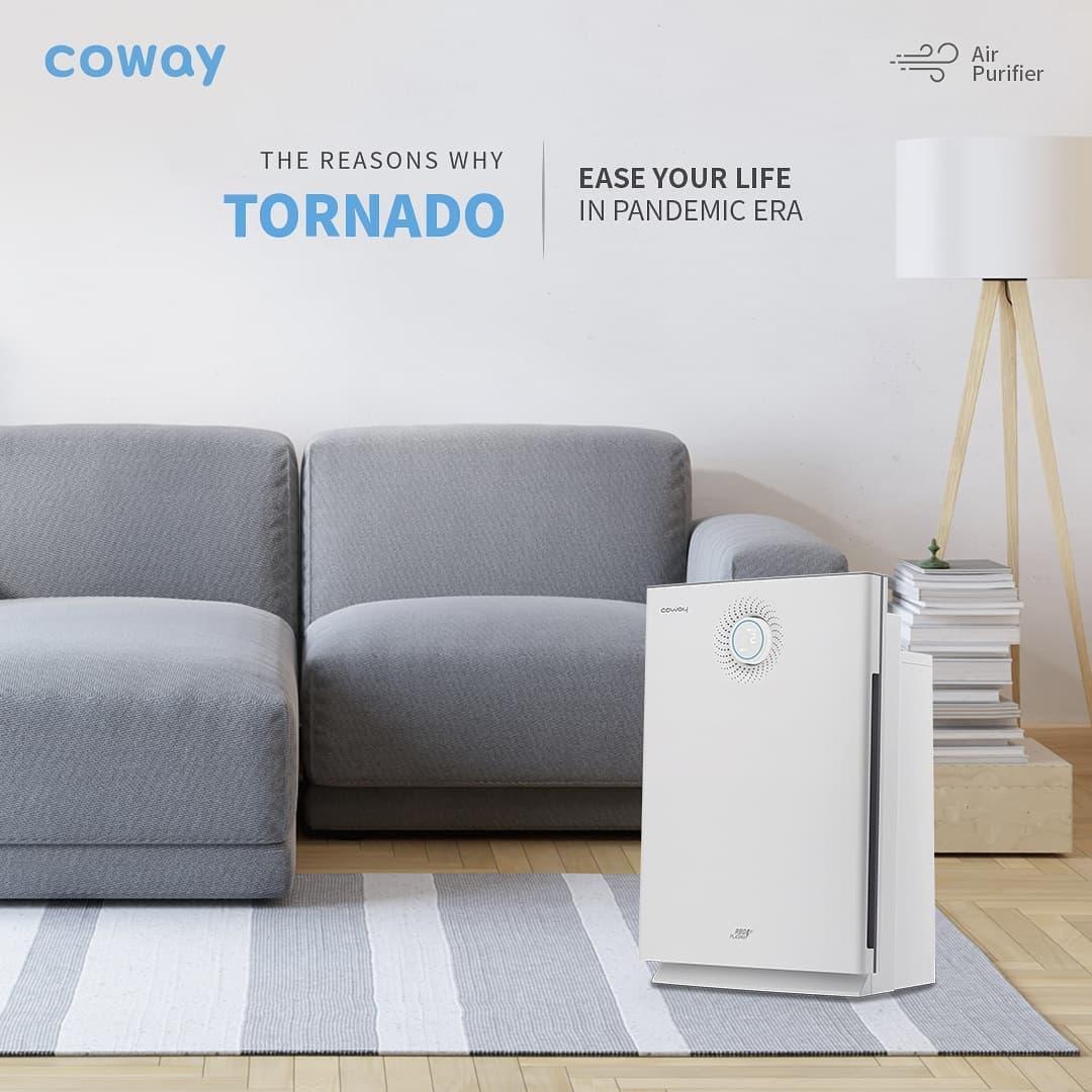 Coway Jakarta - Air Purifier dengan 6 tahap sistem HEPA Filter dilengkapi teknologi