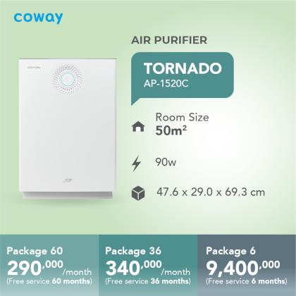 Harga Coway Tornado