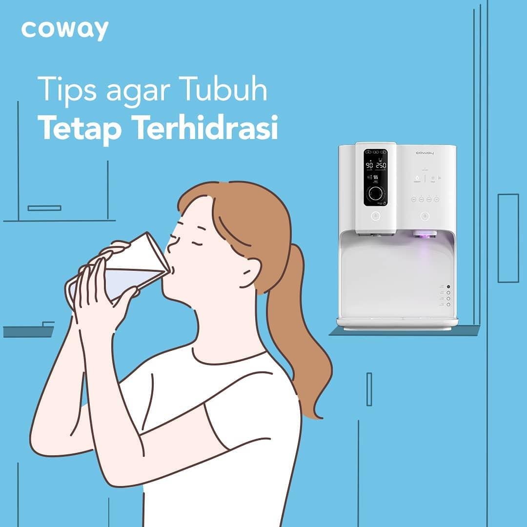 Coway Jakarta - Jaga tubuhmu tetap terhidrasi yuk Jangan sampai tubuhmu kekurangan asupan
