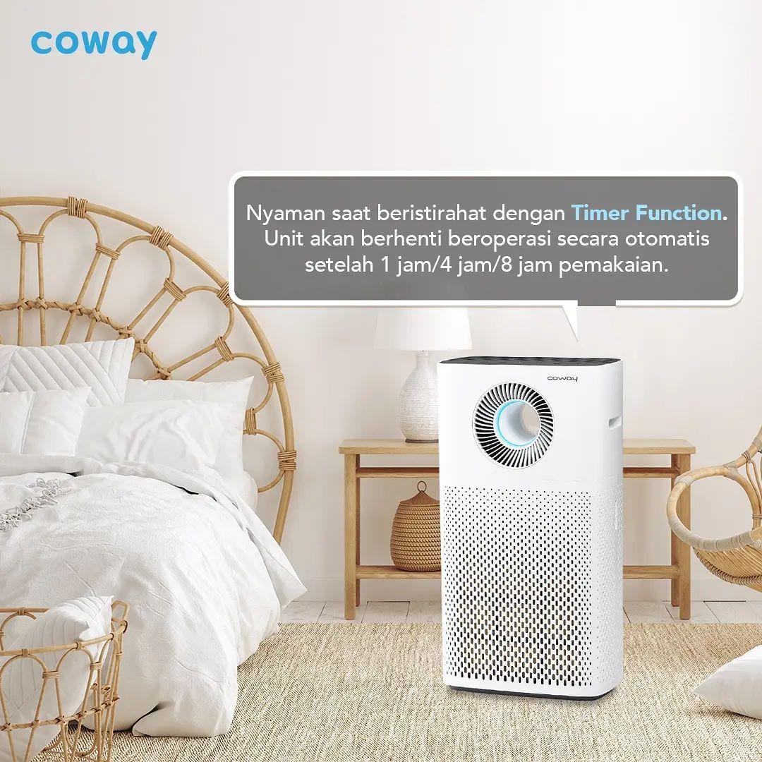 Coway Jakarta - 1631165567 642 Selain memberikan udara bersih dan sehat Coway Air Purifier memberikan