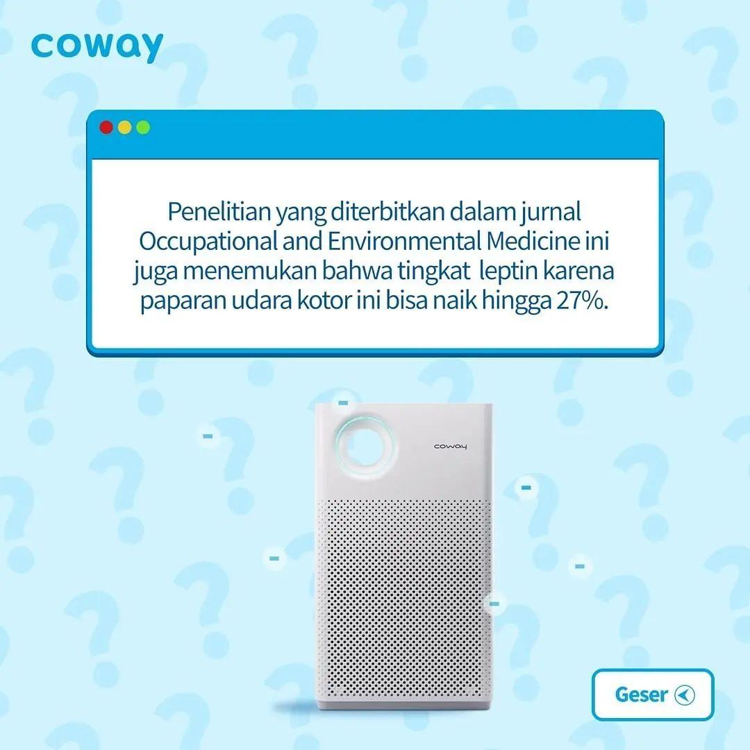 Coway Jakarta - 1631520974 886 Ada berbagai efek yang kurang baik dari polusi udara Sebuah