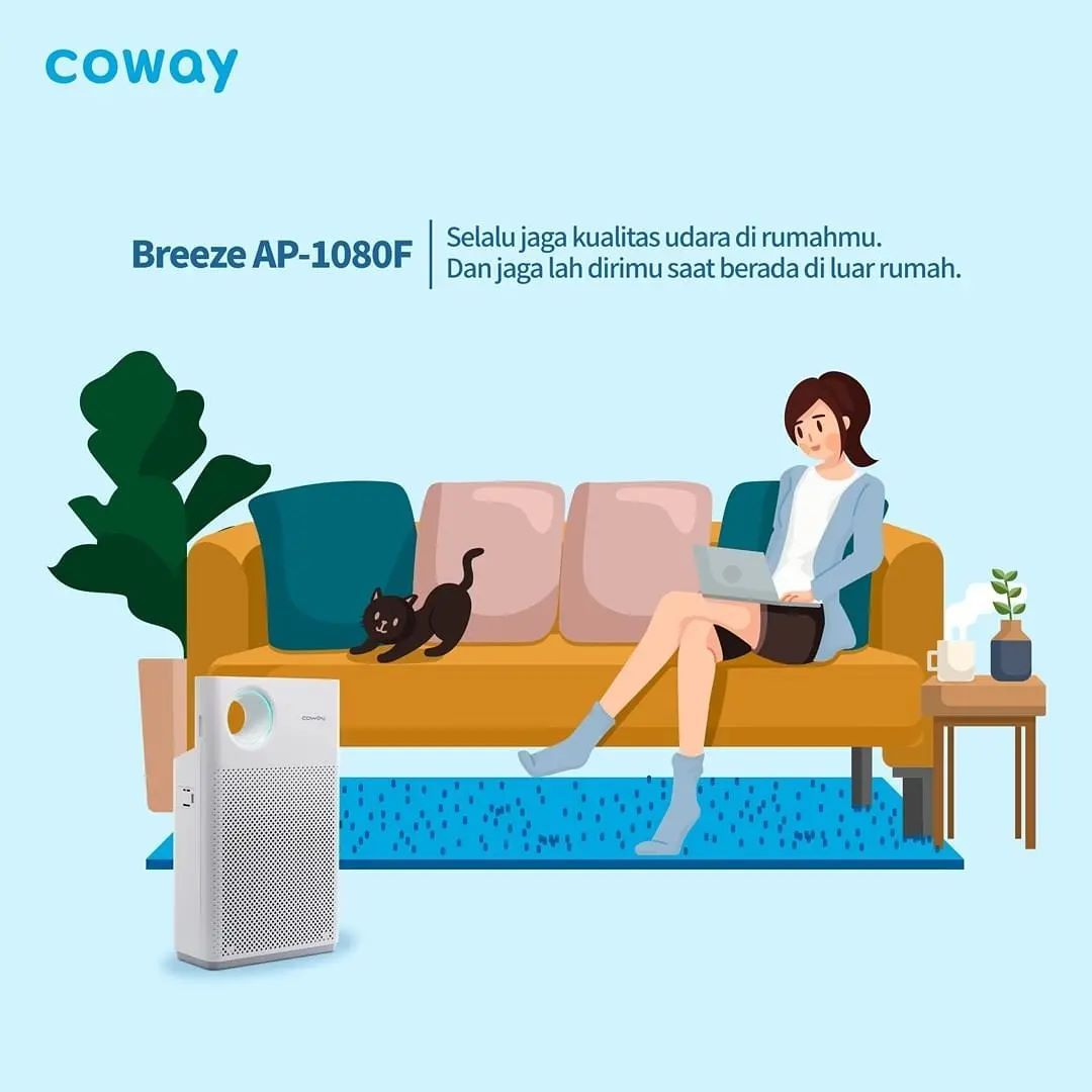 Coway Jakarta - 1631520975 411 Ada berbagai efek yang kurang baik dari polusi udara Sebuah