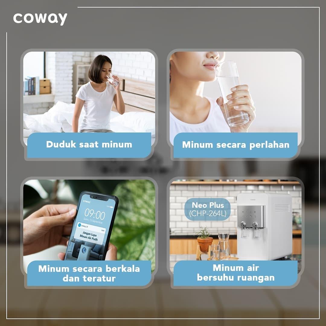 Coway Jakarta - 1632362284 251 Beginilah cara tepat yang bisa dilakukan saat minum air putih