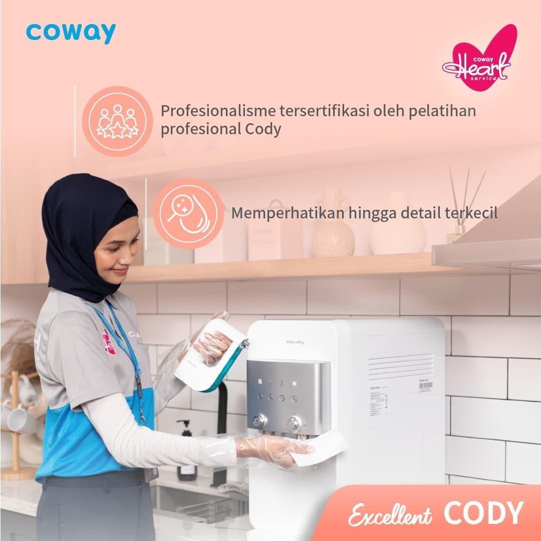 Coway Jakarta - 1632539609 306 Hi Coway people Sudah kenal Cody Heart Service dari Coway