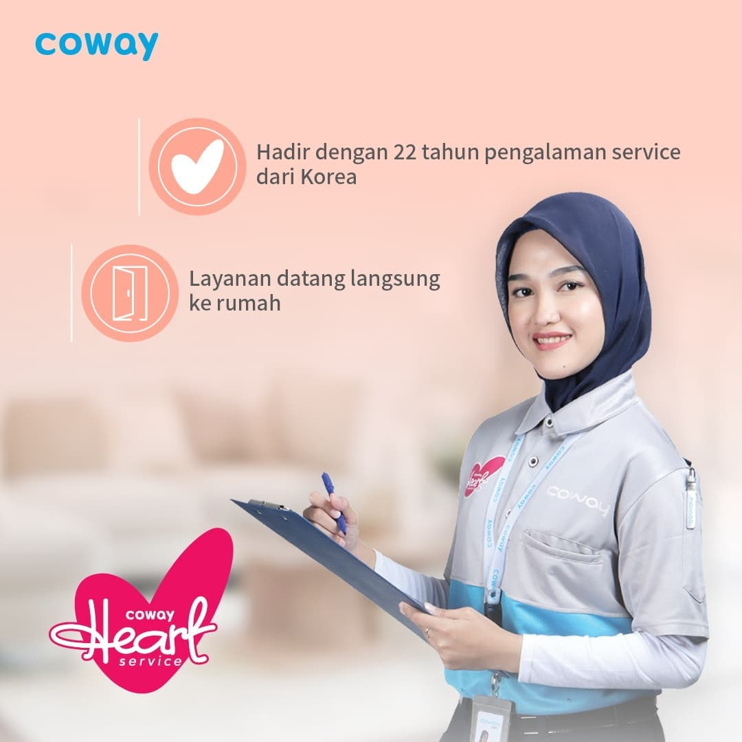 Coway Jakarta - 1632539609 402 Hi Coway people Sudah kenal Cody Heart Service dari Coway