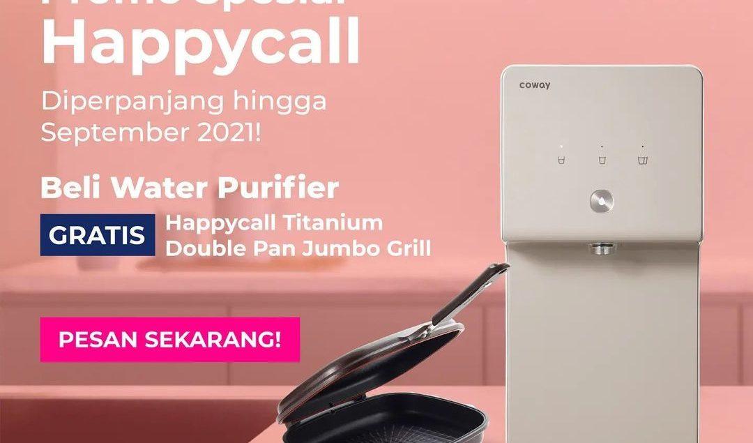 COWAY SPESIAL PROMO SEPTEMBER  Yay! Promo beli Water Purifier dapat HappyCall balik lagi~ [1 - 30 Se...