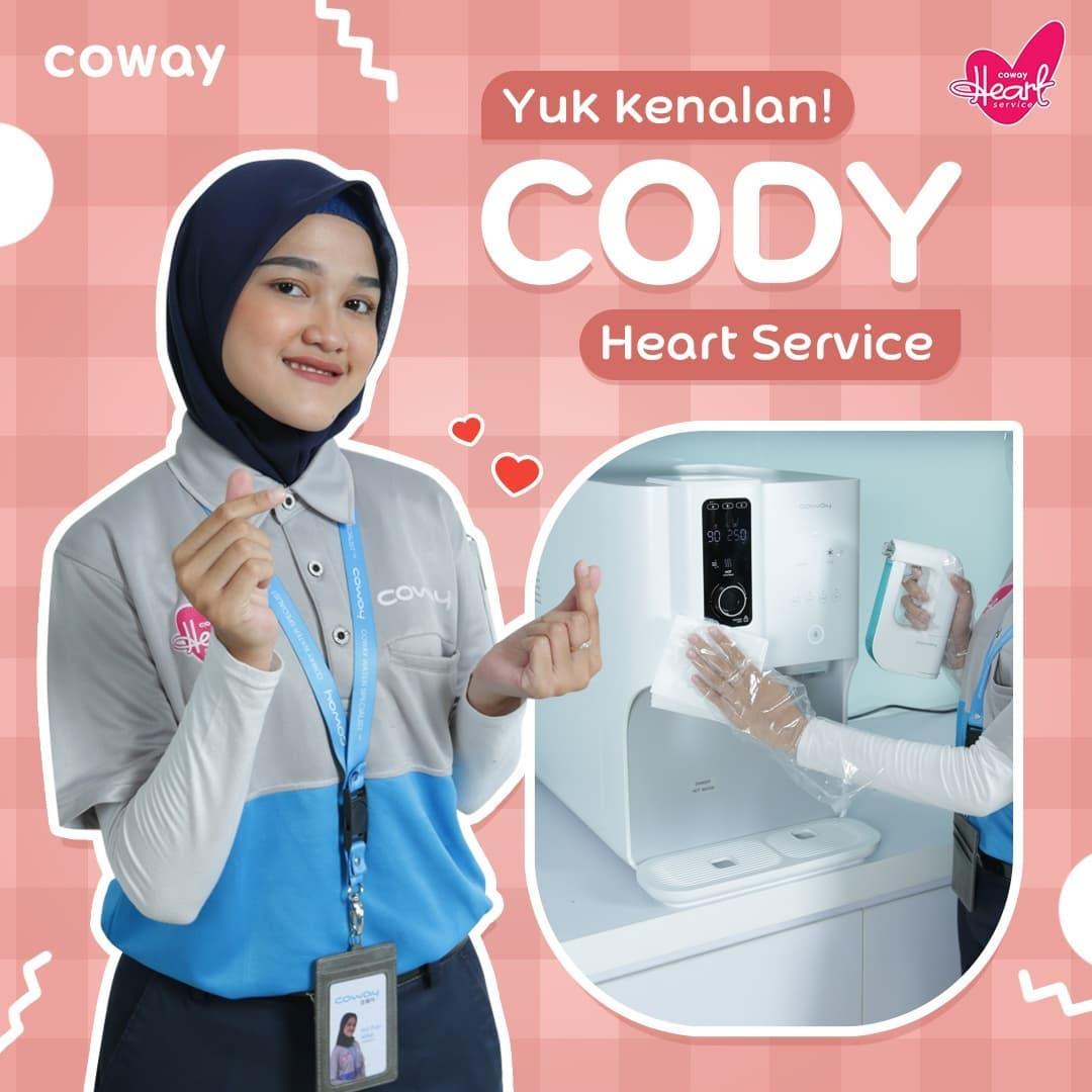 Coway Jakarta - Hai Coway People Kalian sudah tahu belum nih CODY alias