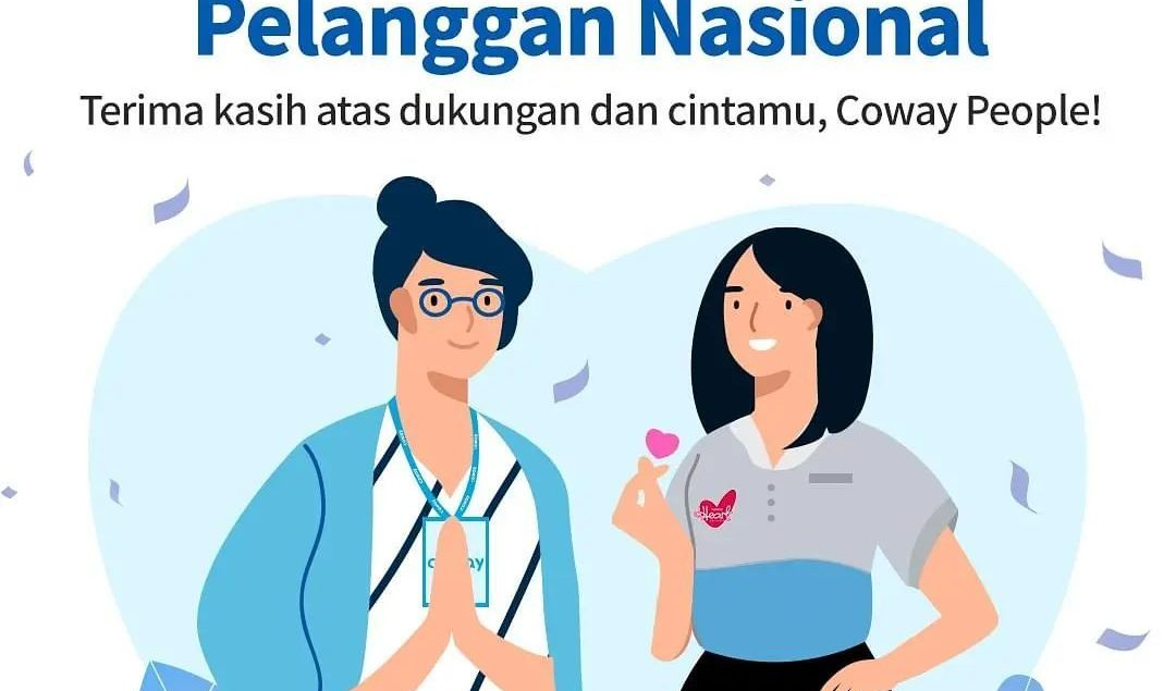 Hai, Coway People!  Segenap keluarga besar Coway Indonesia mengucapkan Selamat Hari Pelanggan Nasion...