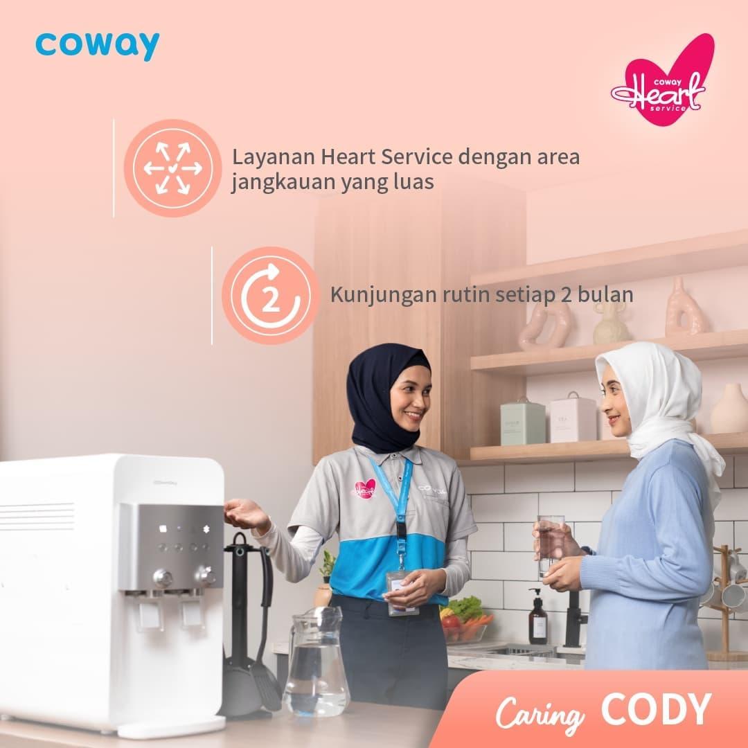 Coway Jakarta - Hi Coway people Sudah kenal Cody Heart Service dari Coway