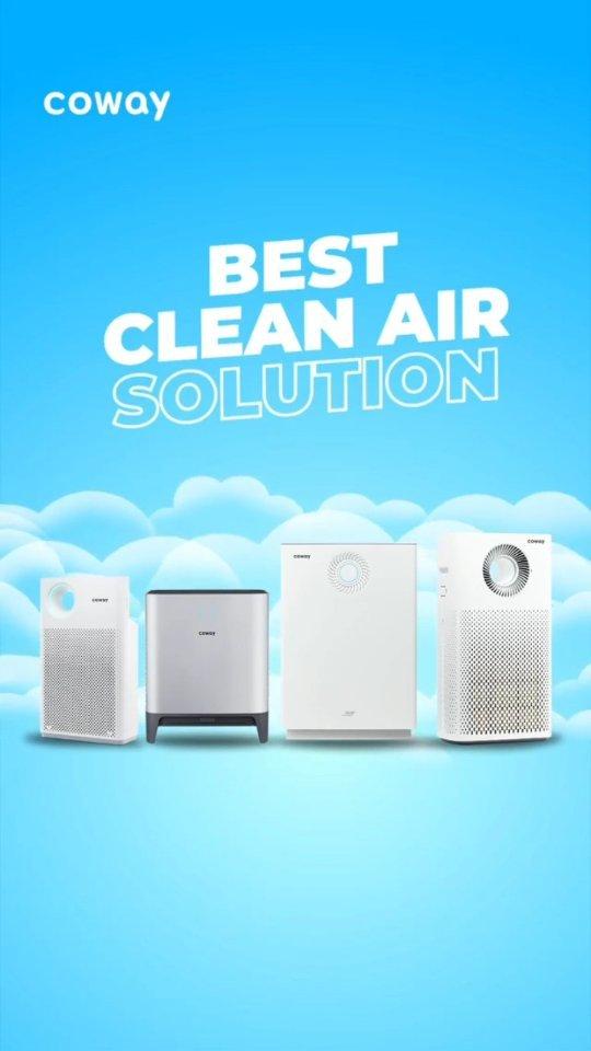 Coway Jakarta - Ini dia Air Purifier terbaik yang bisa kamu miliki Dilengkapi