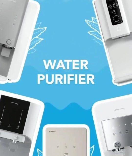 Ini dia Water Purifier terbaik yang bisa kamu miliki! Dilengkapi Sistem Filterasi terbaik RO Filter,...