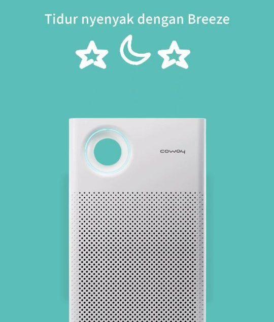 Jangan lupa nyalakan Air Purifier kamu sebelum tidur yaa~ Buat tidur kamu jadi lebih nyaman dan nyen...