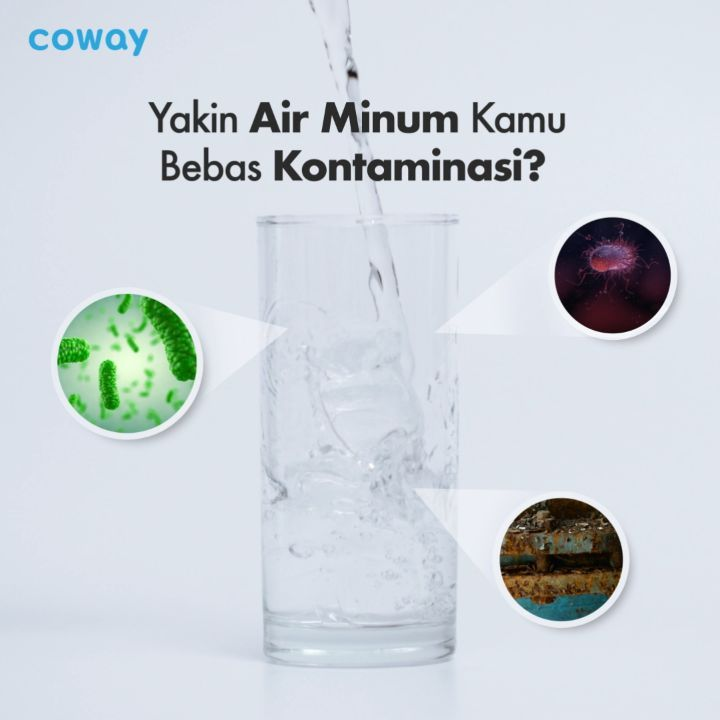 Coway Jakarta - Yakin air yang kamu minum sudah bersih Ada 4 jenis