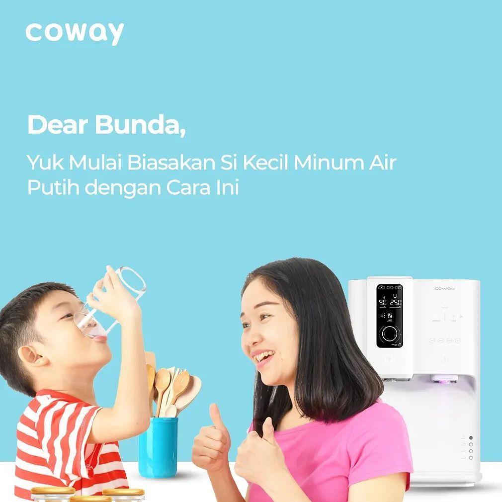 Coway Jakarta - kecukupan air putih pada anak memang penting untuk mendukung tumbuh