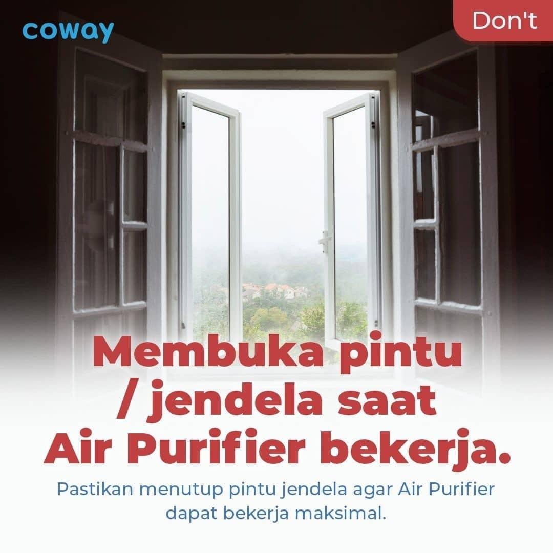Coway Jakarta - 1633212628 334 Mau Air Purifier kamu lebih awet Perhatikan hal hal yang tidak