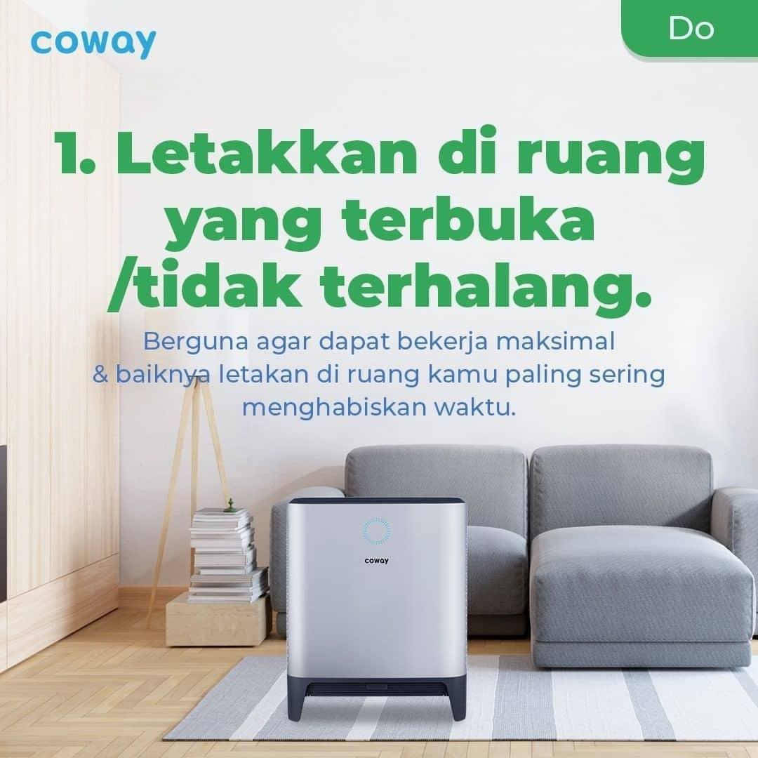 Coway Jakarta - 1633212628 747 Mau Air Purifier kamu lebih awet Perhatikan hal hal yang tidak