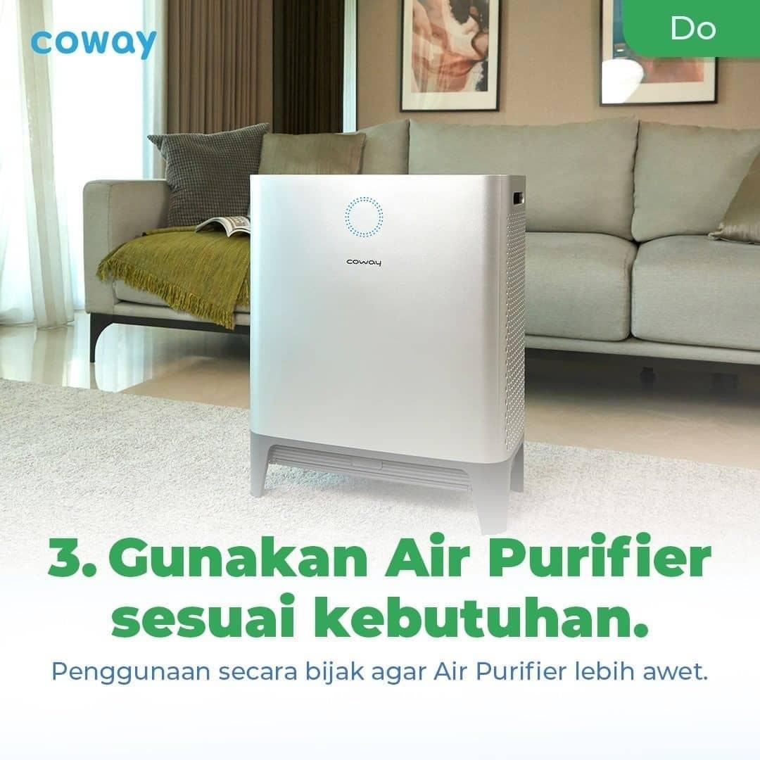 Coway Jakarta - 1633212630 982 Mau Air Purifier kamu lebih awet Perhatikan hal hal yang tidak