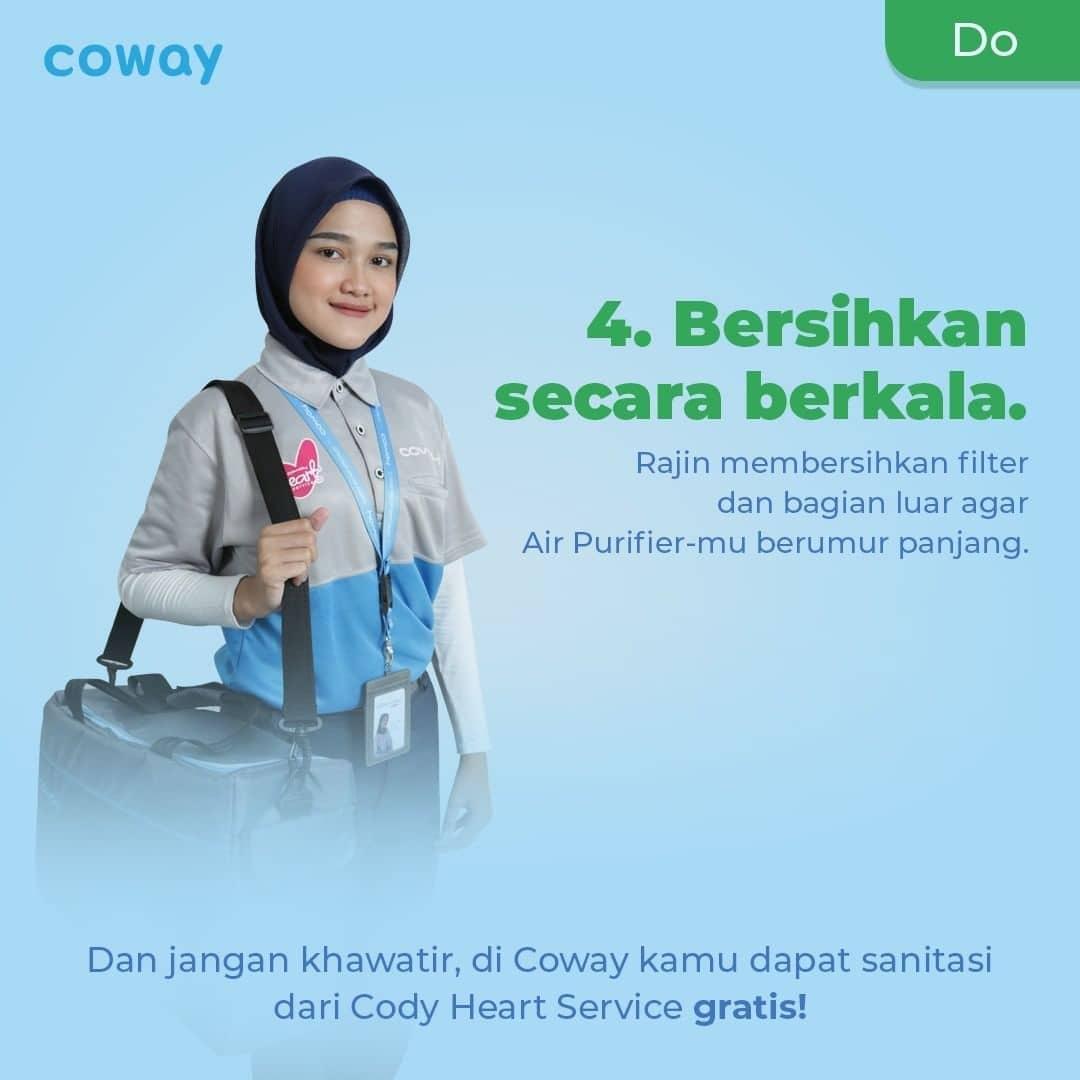 Coway Jakarta - 1633212631 114 Mau Air Purifier kamu lebih awet Perhatikan hal hal yang tidak