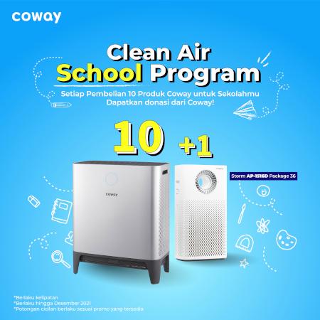 Clean Air School Program Coway Jakarta